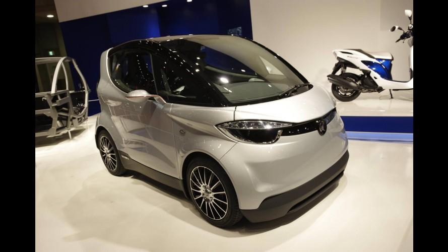 Só faz moto? Yamaha mostra conceito de minicarro elétrico MOTIV.e