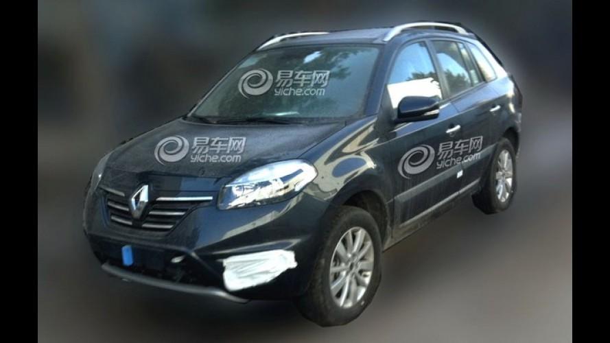 Renault Koleos reestilizado é flagrado na China