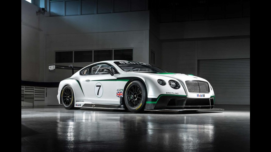 Vídeo: Bentley Continental GT3 estreia no Festival de Goodwood