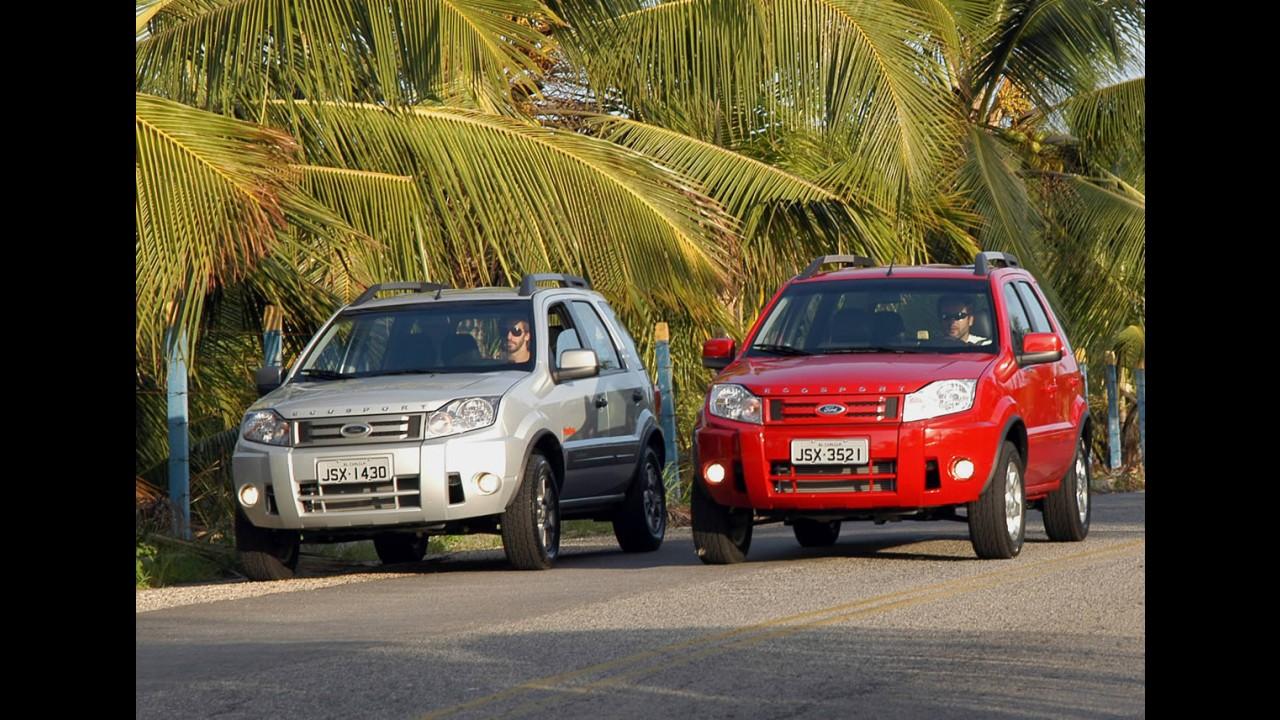 Recall Ford convoca 106 unidades do Ecosport para verificação de fixação do câmbio