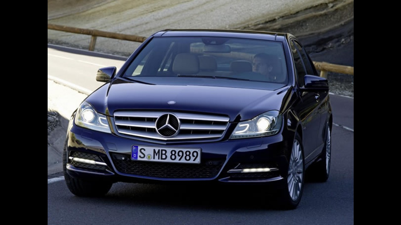 Mercedes-Benz lança linha Classe C 2012 no Brasil com preços entre R$ 116.900 e R$ 191.900
