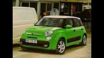 Até então chamada de Ellezero, nova minivan da Fiat será batizada de 500L