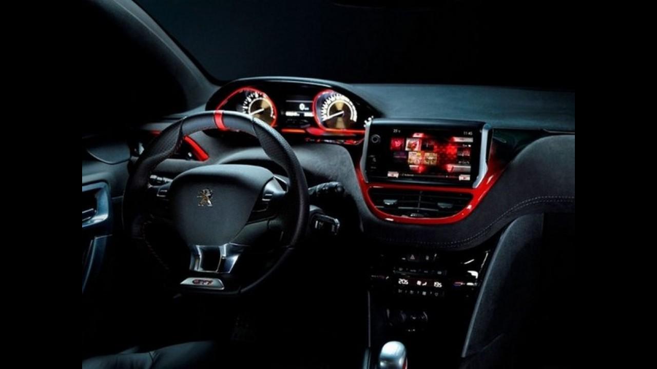 Peugeot 208 GTi Concept: Primeiras imagens são reveladas