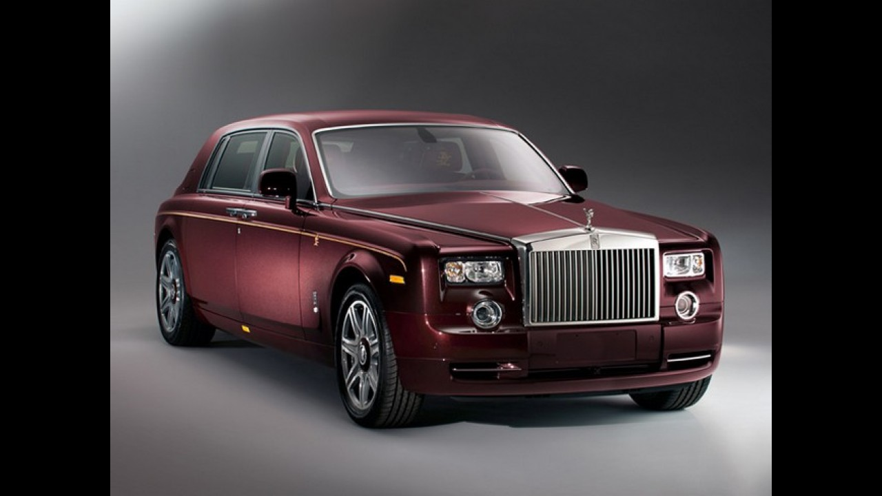 Rolls-Royce vende todas as unidades do Phantom série especial Year of the Dragon na China