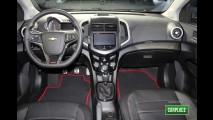 Fotos HD: Novo Chevrolet Sonic RS Turbo