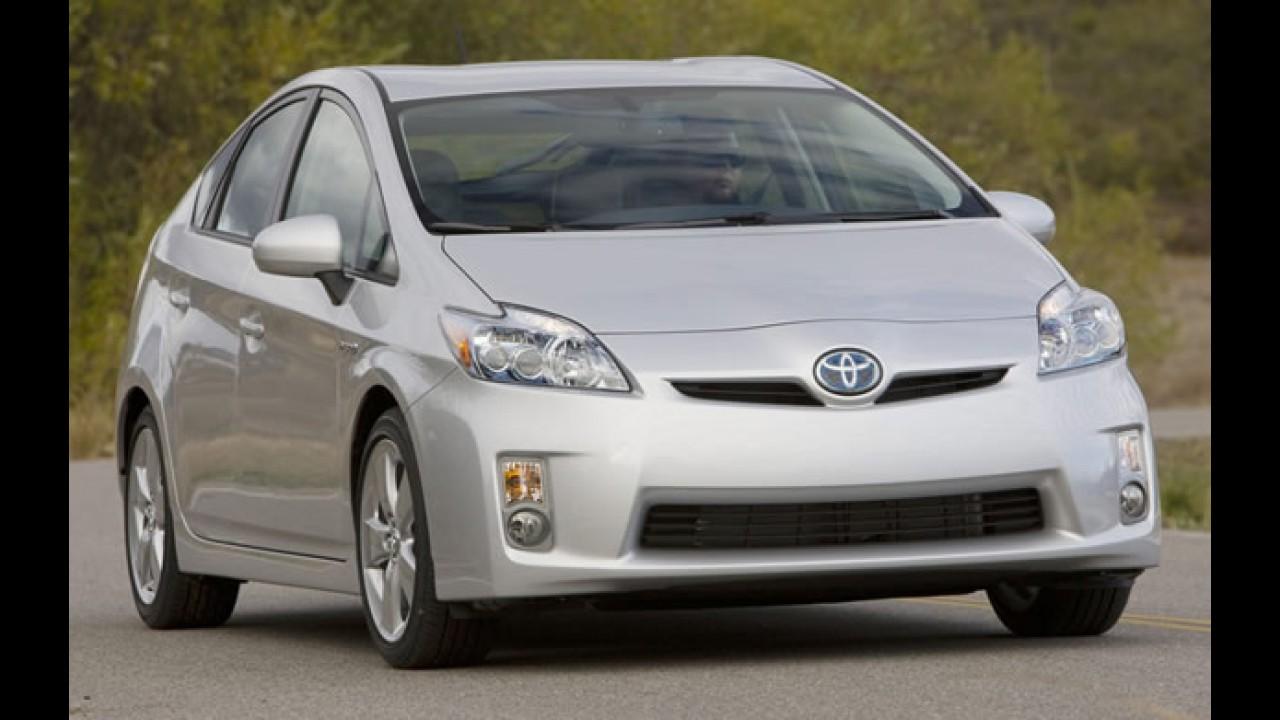 Toyota Prius será vendido no Brasil - Preço deve ficar abaixo de R$ 100 mil