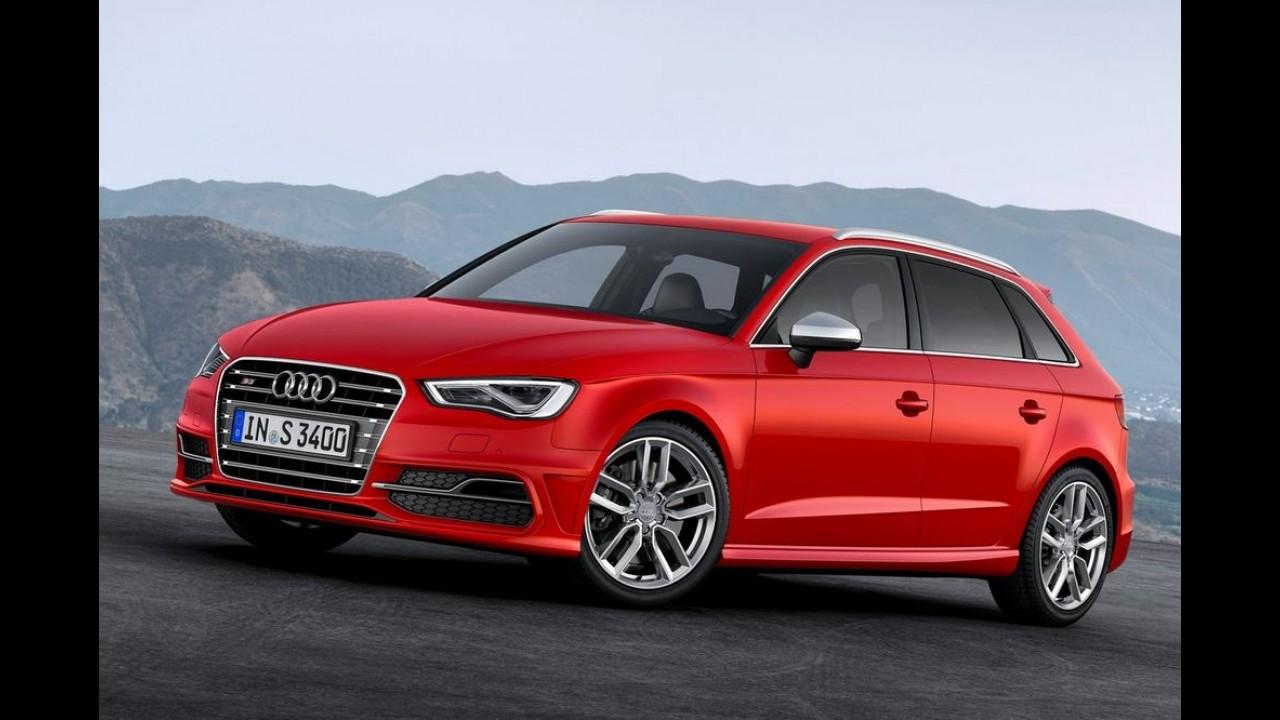 Audi S3 Sportback já está sendo vendido no Brasil por R$ 205,5 mil