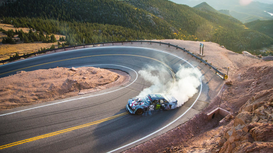 "Ken Block ""Climbkhana"" Pikes Peak drift trailer released"