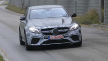 Mercedes-AMG E63 Sedan prototype screenshot from spy video