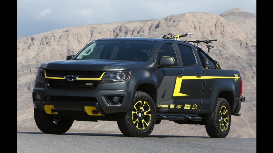 GM Colorado, a S10 norte-americana, ganha conceito Performance no SEMA Show