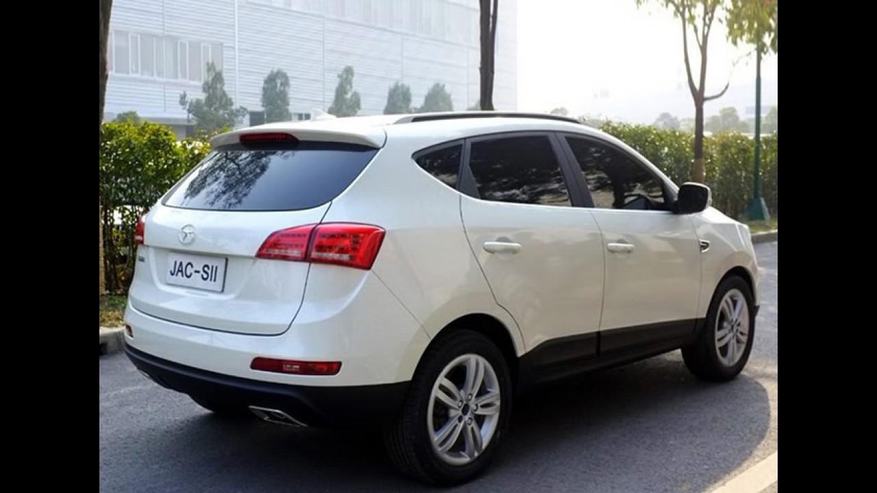 Mais fotos do Novo SUV da JAC Motors: S2 terá motor 1.5 turbo e câmbio de dupla embreagem