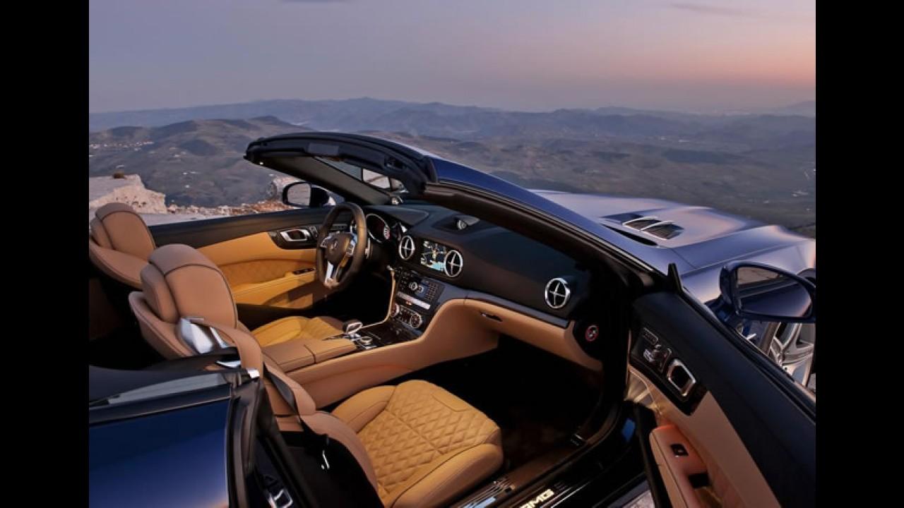 Mercedes Benz SL65 AMG 2013 é revelado: Fotos oficiais e mais informações