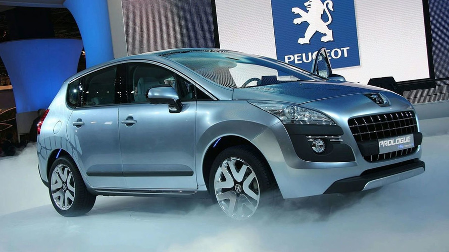 Peugeot Prologue Concept Debuts New Hybrid Technology in Paris