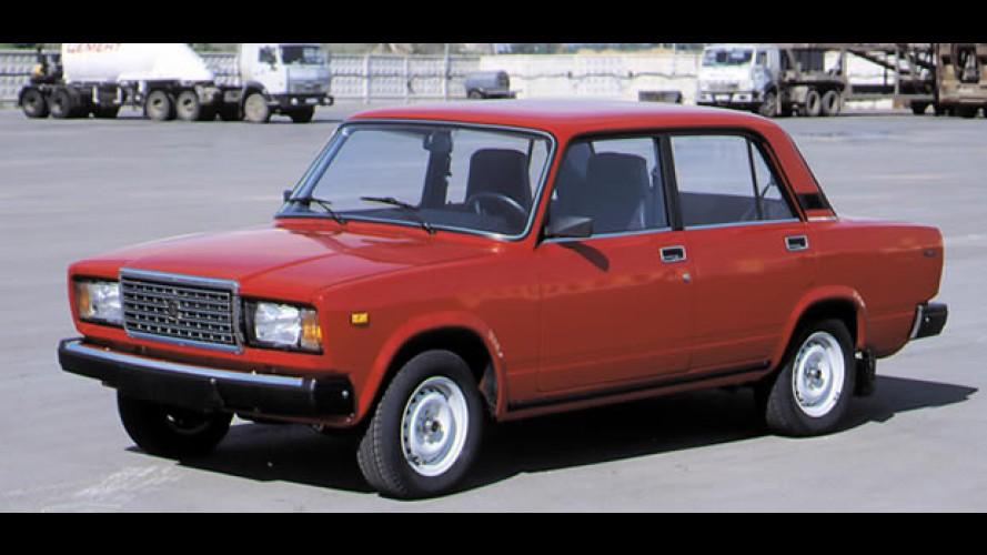 Rússia: Modelos da Lada dominam completamente mercado em 2010