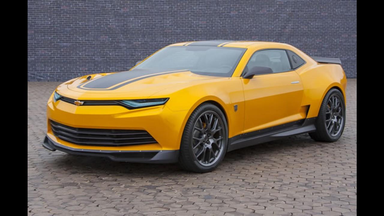 Camaro futurista é estrela de Transformers - A Era da extinção