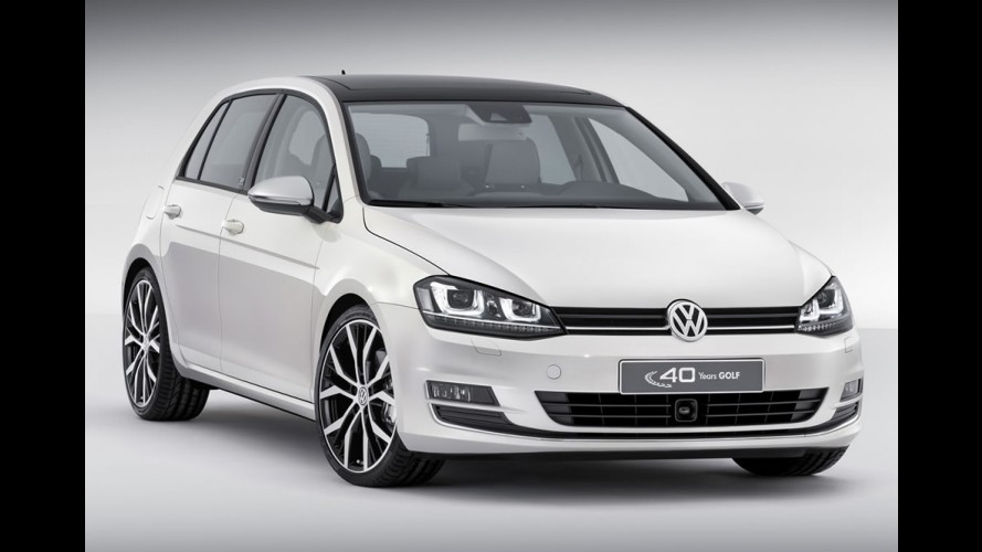Luxuoso VW Golf Edition Concept celebra 40 anos do modelo