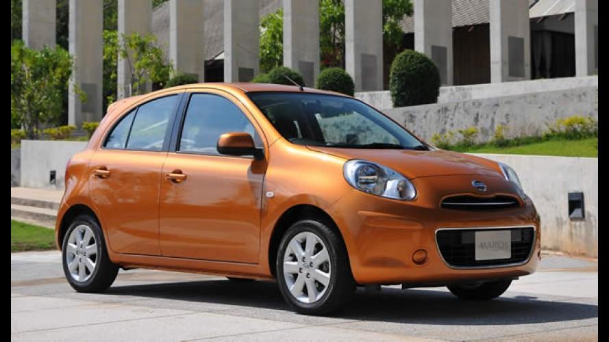 Nissan planeja fabricar subcompacto no Brasil em 2013