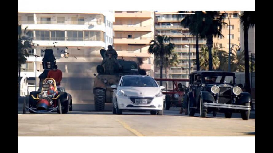 """Vídeo: Peugeot 208 encara uma verdadeira """"Corrida Maluca"""""""
