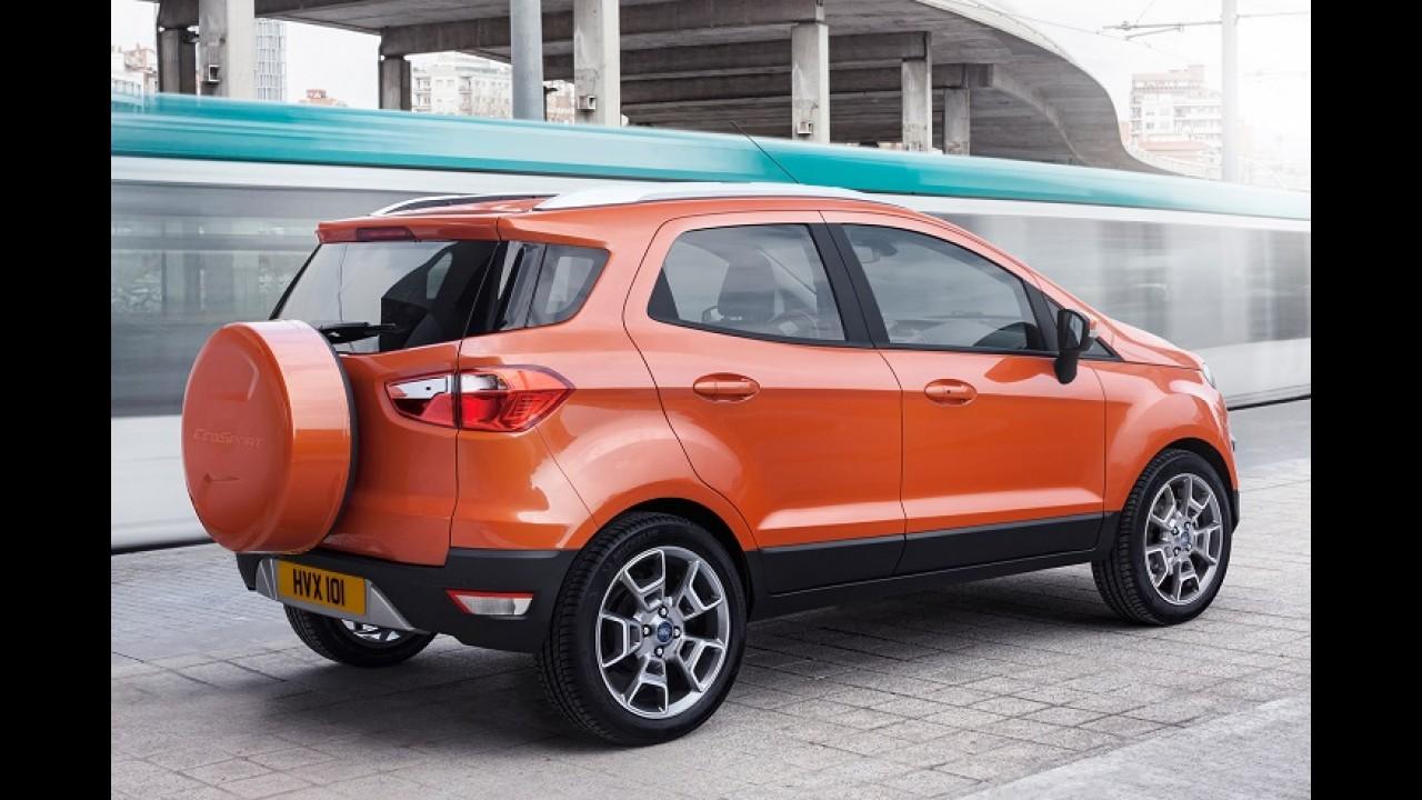 Ford mostra EcoSport em Dubai e promete vendê-lo no Oriente Médio em até dois anos