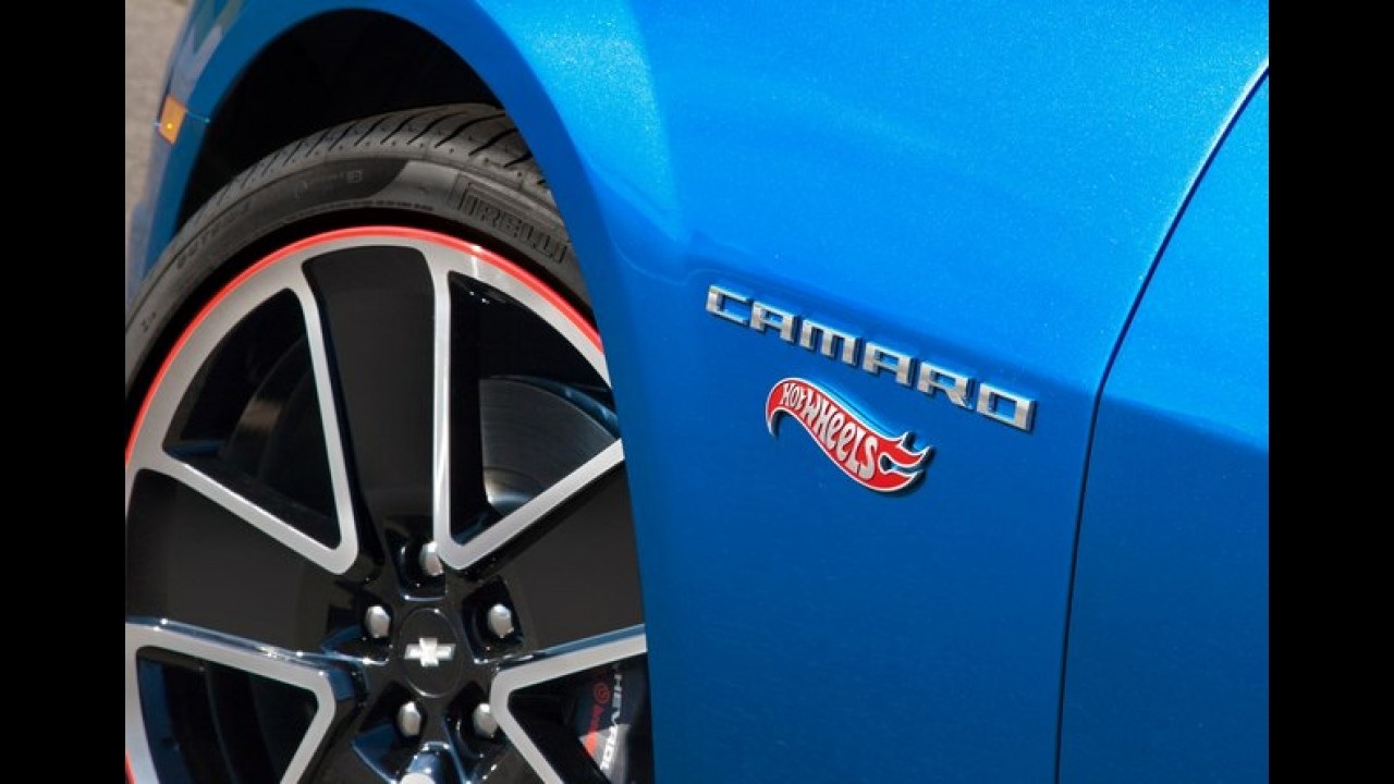 Chevrolet Camaro Hot Wheel Edition é lançado pelo equivalente a R$ 131.200 no Reino Unido