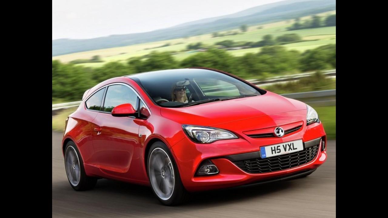 Vauxhall lança o reestilizado Astra GTC turbodiesel com 195 cv no Reino Unido