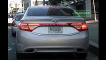 Novo Hyundai Azera 2012: Detalhes da traseira