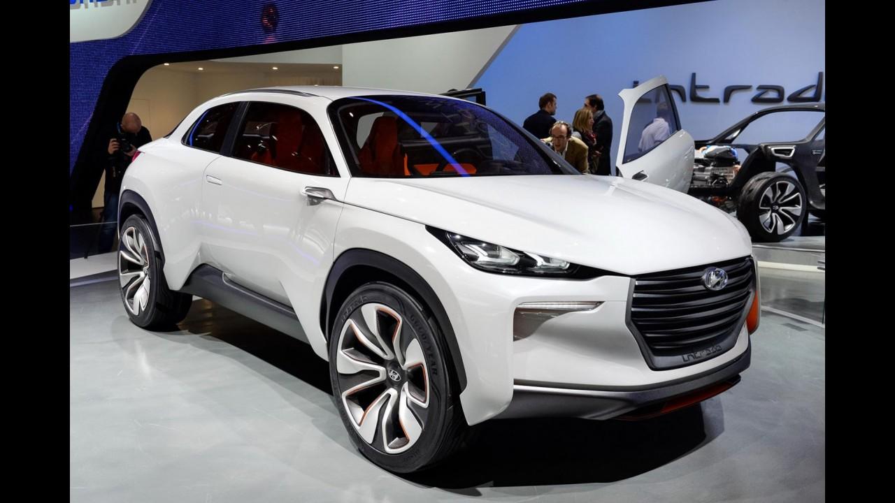 Intrado Concept é o primeiro Hyundai com design assinado por Peter Schreyer