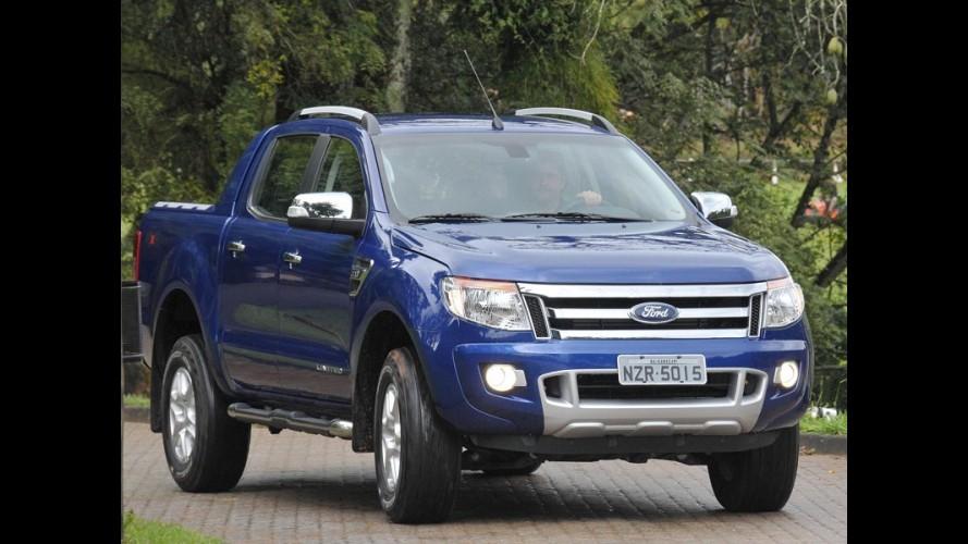 Ford Ranger 2015 chega com sistema multimídia SYNC e novos itens de série