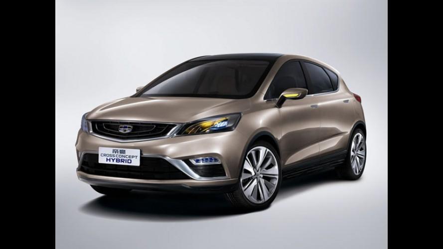 """Salão do Automóvel: Geely vai exibir SUV, hatch médio e """"aventureiro"""""""