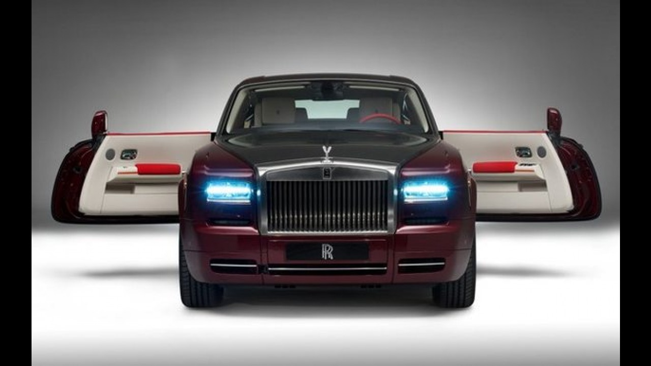 "Rolls Royce venderá o Phantom ""Ruby Edition"" em Abu Dhabi"