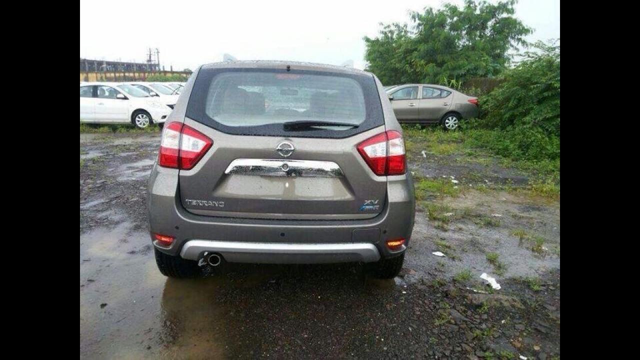 Nissan Terrano, rival do EcoSport, roda sem disfarces antes do lançamento na Índia