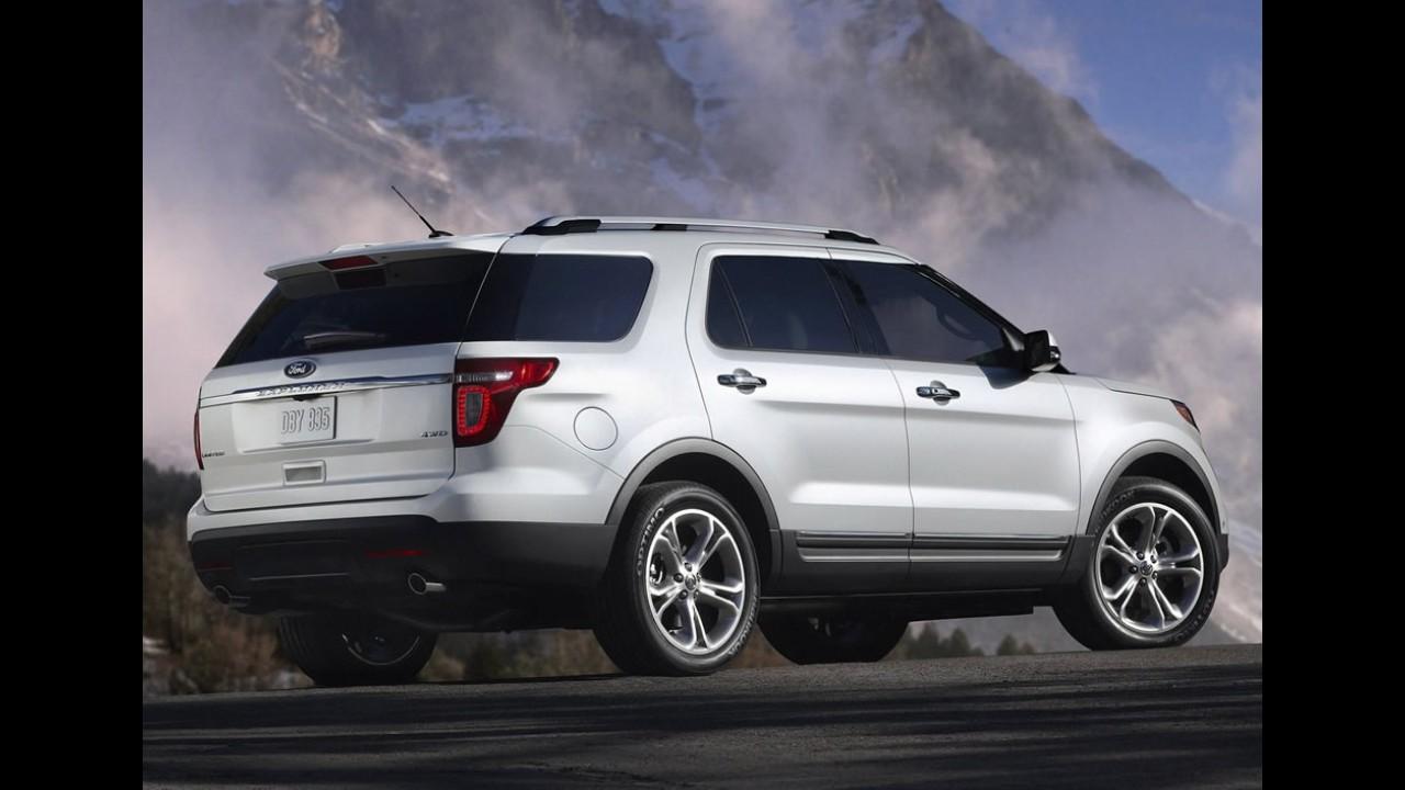 """Rússia: Ford Focus é eleito """"Carro do Ano"""" e Explorer fatura entre SUVs"""