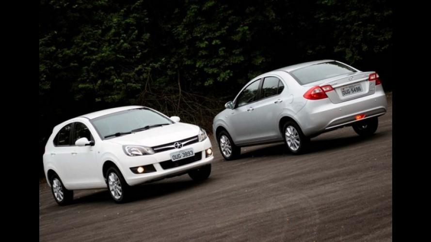 Novos JAC J3 e J3 Turin chegam por R$ 35.990 e R$ 37.990