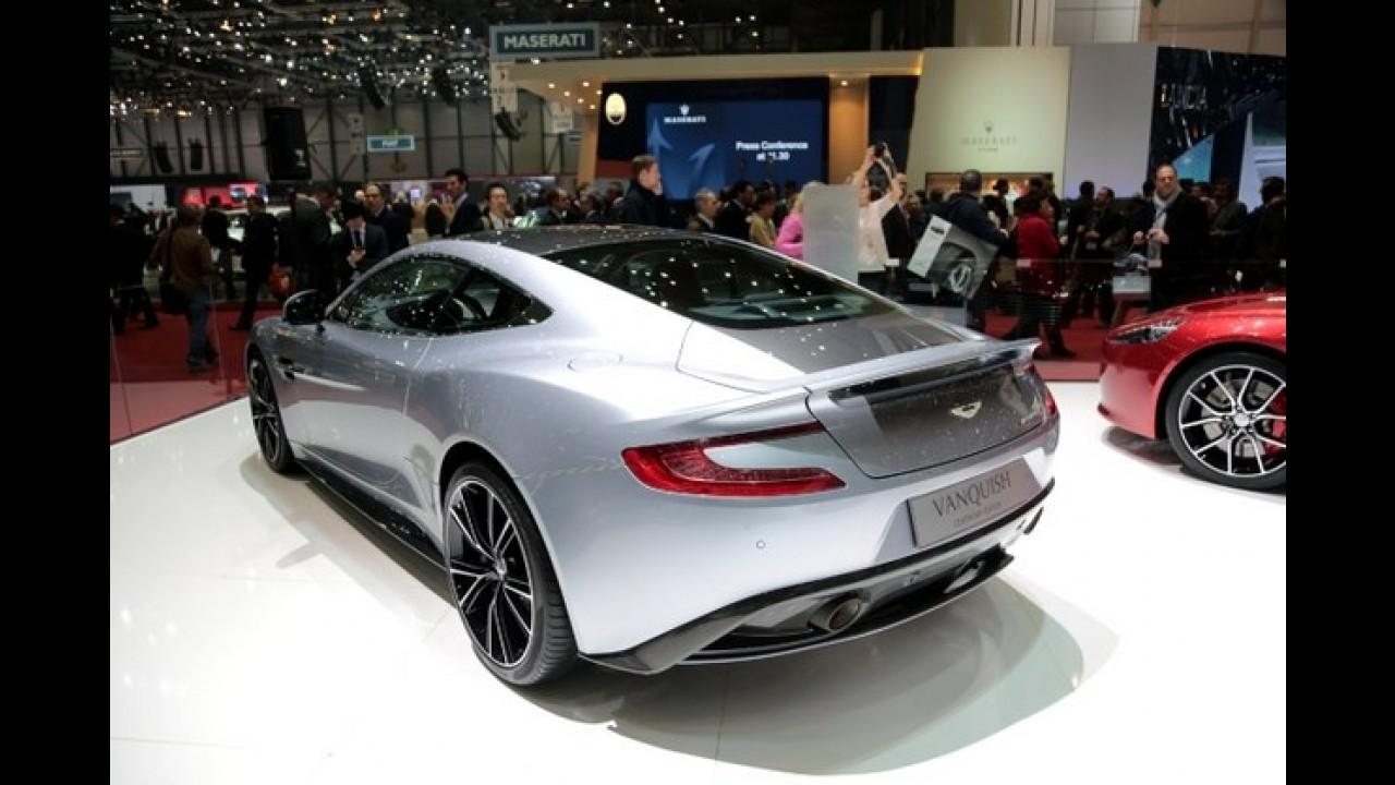 Salão de Genebra: Aston Martin Vanquish Centenary Edition - Centenário em alto estilo