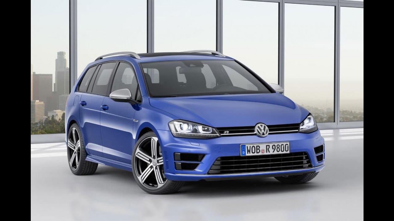Veja o novo VW Golf R Variant de 300 cv em fotos oficiais antes da estreia