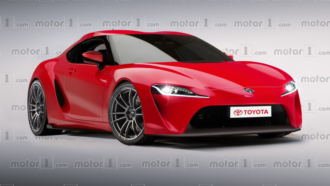2018 Toyota Supra >> Much Hyped Toyota Supra Revival Digitally Imagined