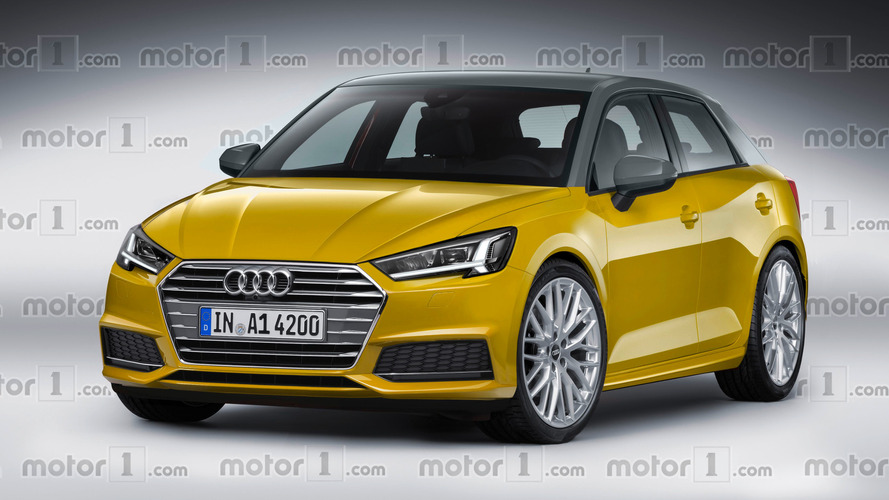 New Audi A1 speculatively rendered