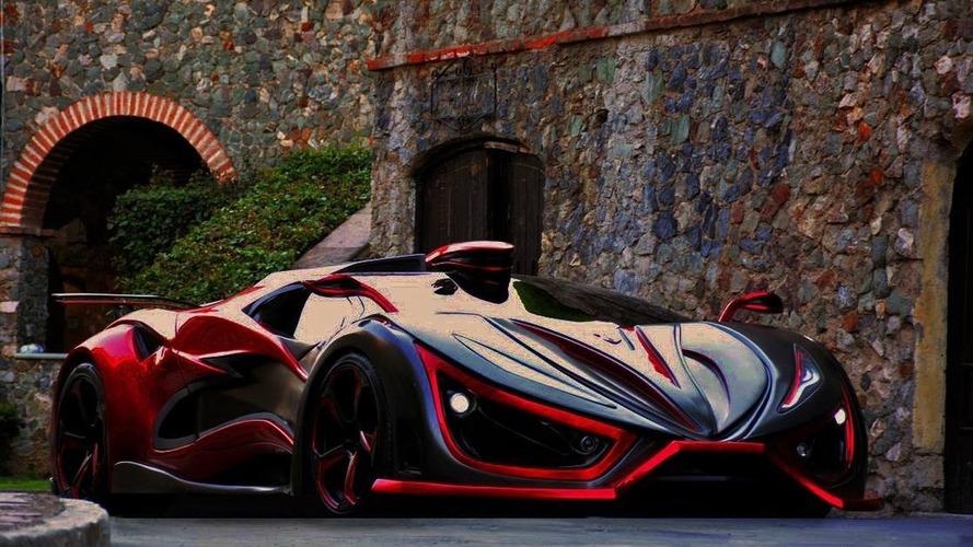 1400 bg'lik süper otomobil Inferno üretime hazırlanıyor