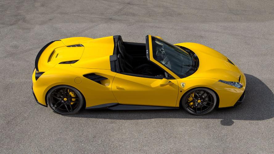 La Ferrari 488 Spider par Novitec Rosso