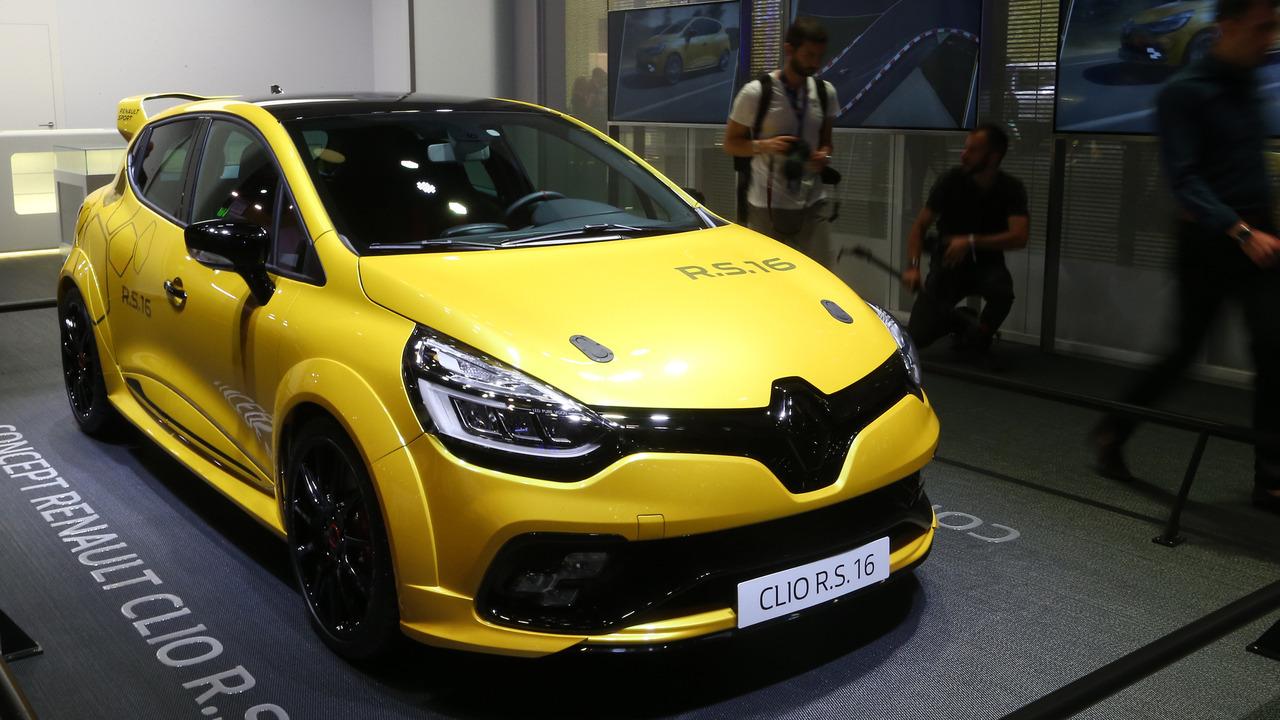 Renault Clio R.S. 2016 Mondial de l'Automobile