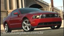 Vídeo Show!!! Ouça o ronco do motor e veja o Novo Ford Mustang 2010 em ação