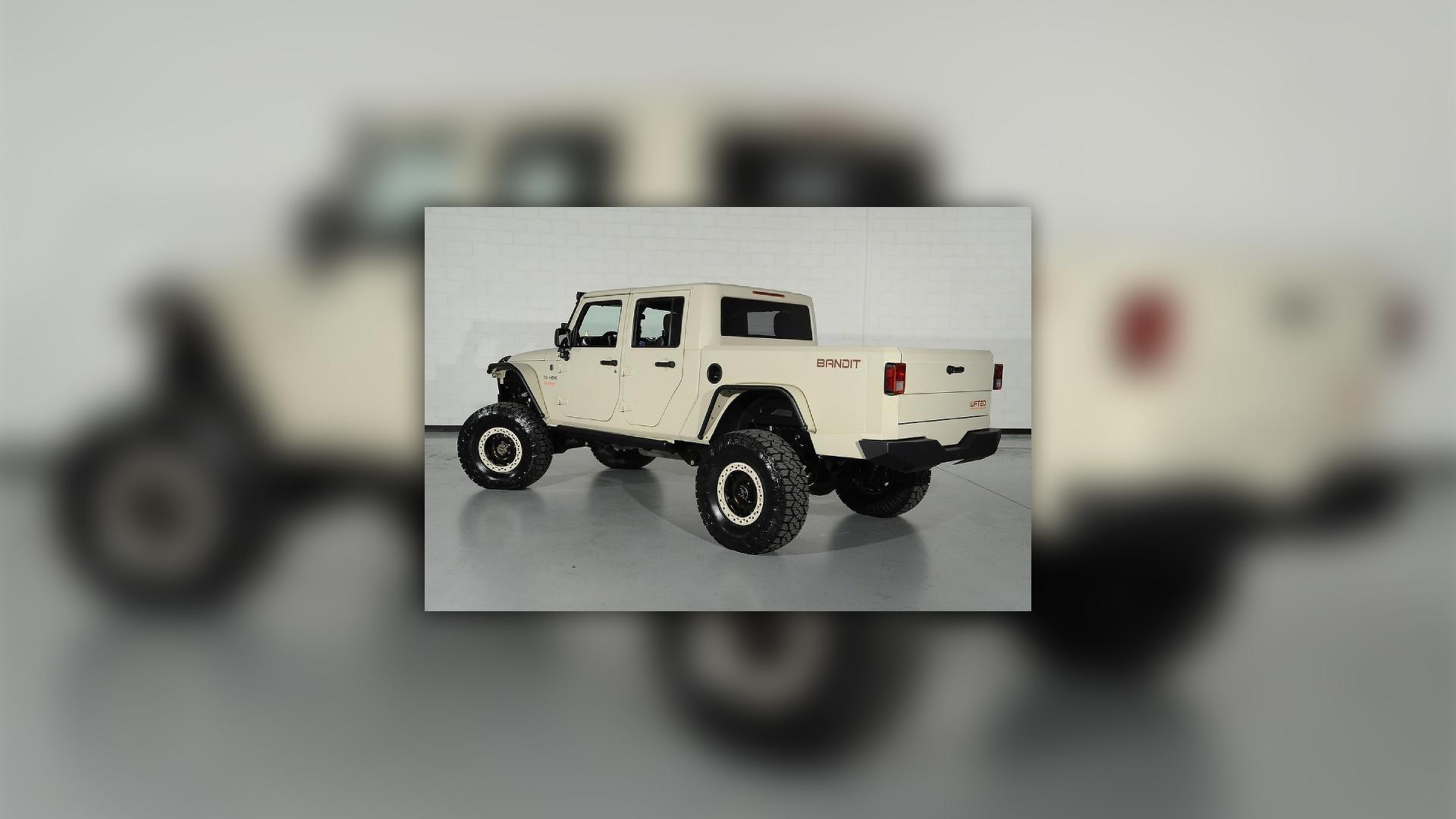 700-horsepower Jeep Wrangler Bandit pickup