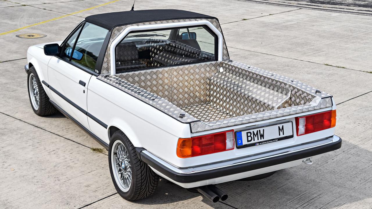 Bmw Shows Off E30 And E92 M3 Pickups E36 M3 Compact E46 M3 Touring