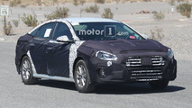 Hyundai Sonata Spy Photos