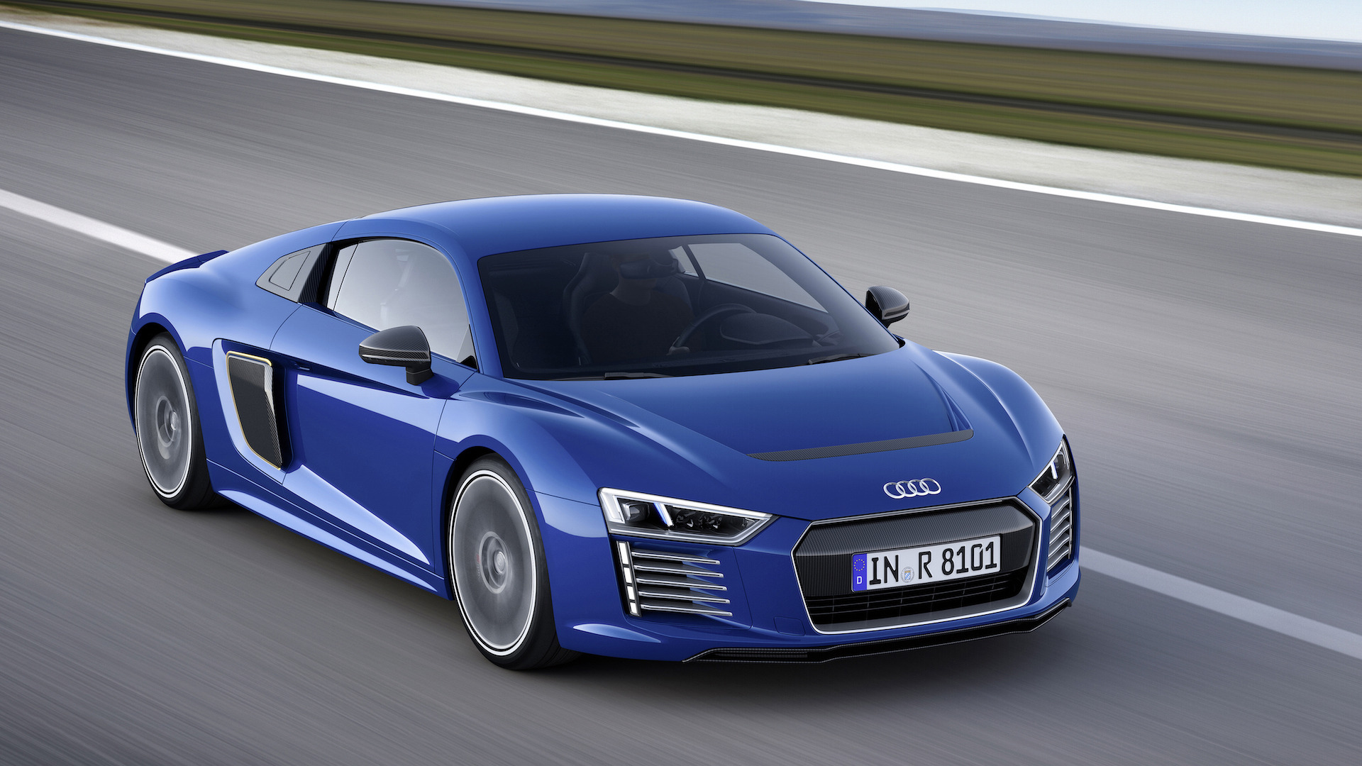 2020 Audi R8 E Tron Spy Shoot