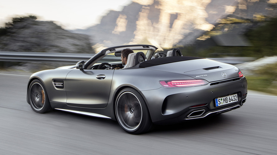 2018 Mercedes Amg Gt C Roadster Review Performance Over