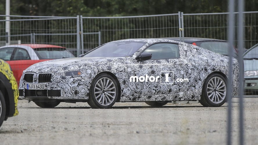 Revived BMW 8 Series spied for first time