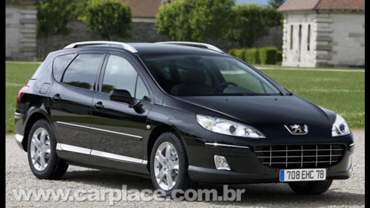 Novo Peugeot 407 chega por R$ 82.900 - Modelo anterior custa R$ 75.900
