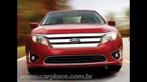 Novo Ford Fusion 2010 deve chegar ao Brasil em março - Motor V6 também virá