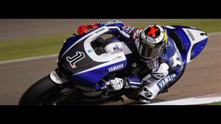 MotoGP 2011, Losail, Day 1: Yamaha accorcia le distanze